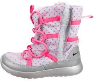 Nike Girls' Rosherun HI Boots w/ Tags
