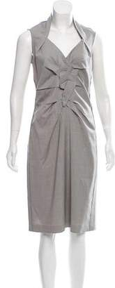 Magaschoni Sleeveless Midi Dress