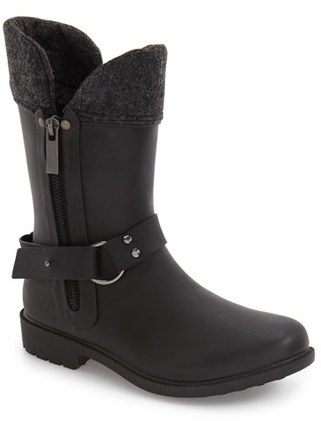Chooka Women's Chooka Dressage Moto Rain Boot