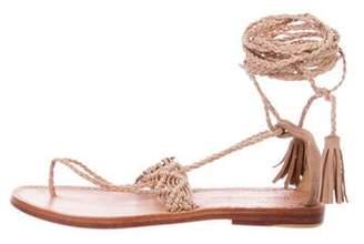 Ulla Johnson Javi Lace-Up Sandals w/ Tags