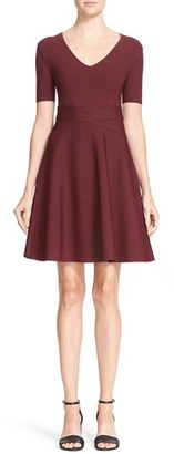 Women's T By Alexander Wang Rib Knit Fit & Flare Dress $475 thestylecure.com