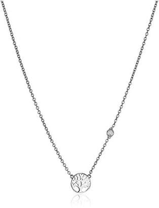 Shy by SE Tree of Life Necklace with Diamond Bezel