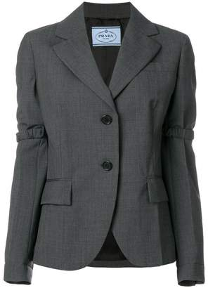 Prada elasticated detail blazer