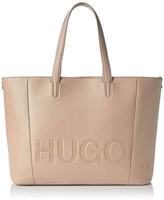 HUGO Women 50380741 Shoulder Bag Beige Size: