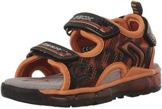 Geox Kids J S.Android B.A Sneakers, Orange/Black