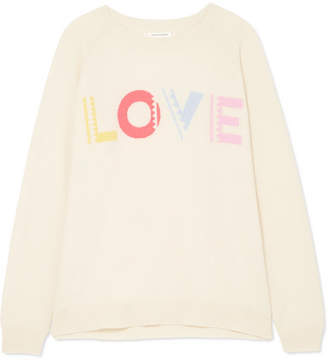 Chinti and Parker Love Cashmere Sweater - Cream