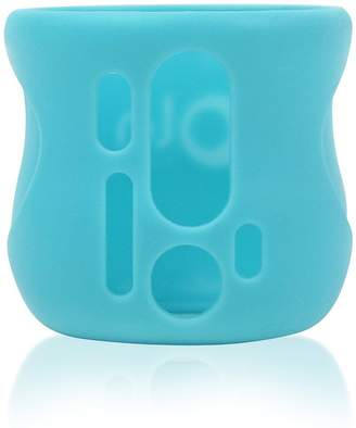 Avent Naturally Olababy Silicone Sleeve for Natural Glass Bottles (4 oz, Blue)