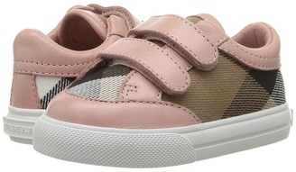 Burberry Kids - Heacham Sneaker Girl's Shoes $175 thestylecure.com