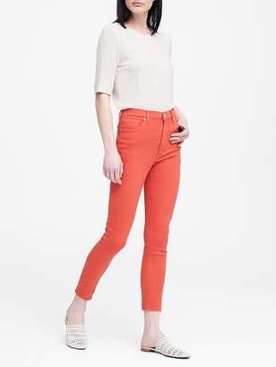 Banana Republic High-Rise Skinny Jean