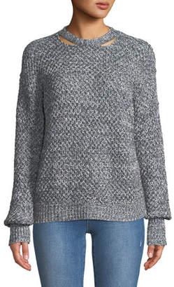 Ella Moss Delfina Cable-Knit Pullover Sweater