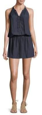 Ramy Brook Allie Sleeveless Lace-Up Dress