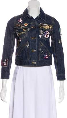 Marc Jacobs Denim Mermaid Jacket