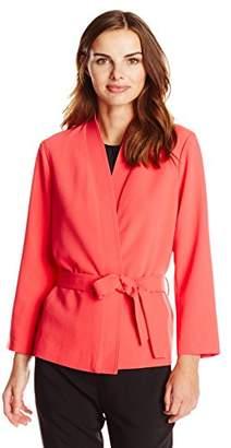 Lark & Ro Amazon Brand Women's Kimono Wrap Jacket
