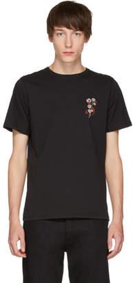 Saturdays NYC Black Poppy T-Shirt