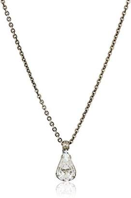 Sorrelli White Bridal Delicate Drop Pendant Necklace