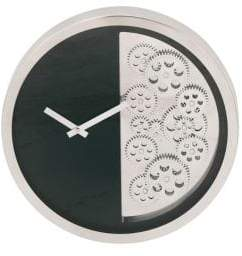 Large Clocks Stainless Steel Gear Wall Clock