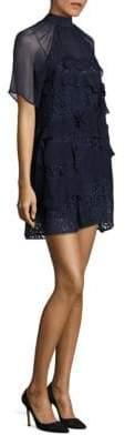 N°21 Ruffled Tiered Shift Dress