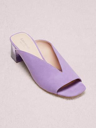 Kate Spade Caila Mules, Pop Lilac - Size 5