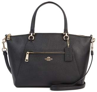 Coach Prairie Black Leather Shoulder Bag