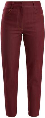Isa Arfen High-rise slim-leg jeans