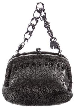 Thomas Wylde Skull Frame Handle Bag