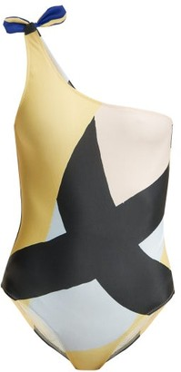 White Horse Bower - X Julian Smith Swimsuit - Womens - Multi