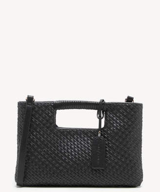 Sole Society Women's Ady Convertible Clutch Faux Leather Crossbody Bag Black From