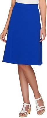 Liz Claiborne New York Essentials Ponte Knit Pull-on Skirt