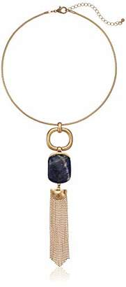 Danielle Nicole Women's Indigo Statement Collar Necklace