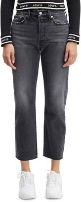 Levi's Wedgie Straight Leg High-Rise Jeans