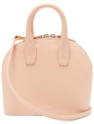 Mansur Gavriel Top Handle Mini Leather Bag - Womens - Pink
