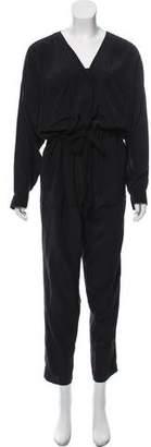 Bodkin Long Sleeve V-Neck Jumpsuit