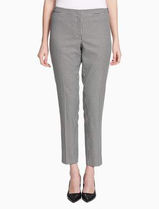 Calvin Klein gingham suit pants