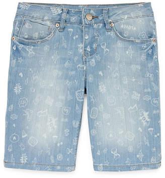 YMI Jeanswear Denim Bermuda Shorts - Big Kid Girls