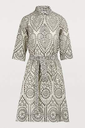 Lisa Marie Fernandez Cotton shirt dress