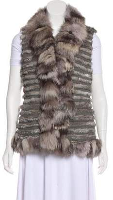 Fur Tailored Vest