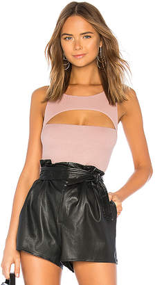 Michael Lauren Kingsley Cut Out Tank
