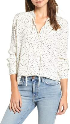 Rails Casey Tie Neck Blouse