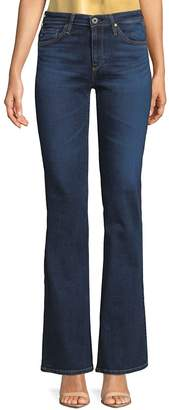 AG Adriano Goldschmied Women's Faded Boot Cut Jeans - Blue, Size 28 (4-6)