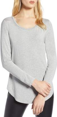 Halogen Long Sleeve Knit Tunic