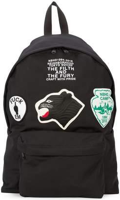 Neighborhood patched backpack