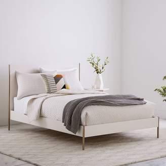 west elm Rhyan Bed - White