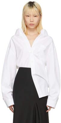 Balenciaga White Swing Shirt