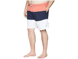 Nautica Big Tall Tricolor Block Trunk