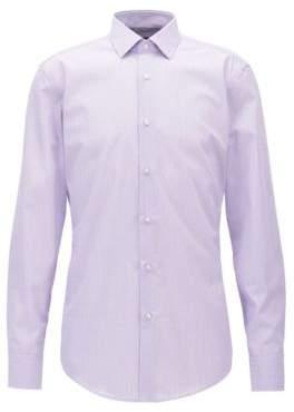 BOSS Hugo Egyptian Cotton Dress Shirt, Slim Fit Jenno 17 Light Purple