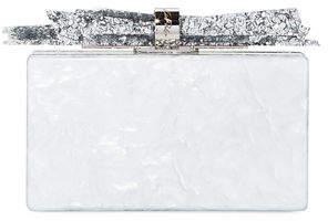 Edie Parker Wolf Acrylic Shard Clutch Bag