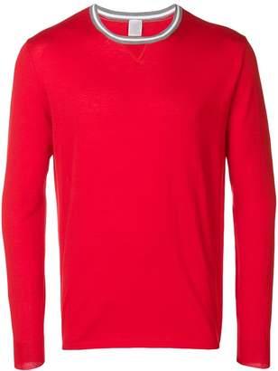 Eleventy round neck jersey top