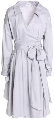 Milly Abigale Cotton Wrap Dress