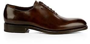 Salvatore Ferragamo Men's Angiolo Lace-Up Leather Dress Shoes