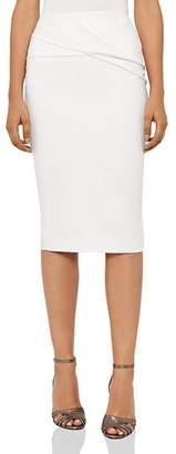Reiss Icia Pleat-Detail Skirt